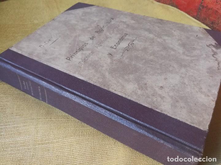 Libros antiguos: PRINCIPIOS DE AGRICULTURA. TÉCNICA AGRÍCOLA E INDUSTRIAL Y ECONÓMICA. BERTOLOME DARDER. 1935 - Foto 2 - 89830668