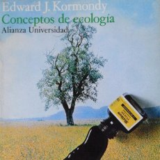 Libros antiguos: CONCEPTOS DE ECOLOGÍA. EDWARD J. KORMONDY. . Lote 90313488
