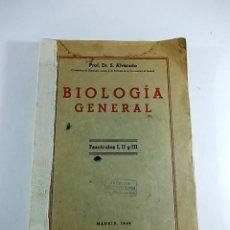 Libros antiguos: ANTIGUO LIBRO DE BIOLOGIA GENERAL FASCICULOS I II III TODOS UNIDOS. Lote 90626460