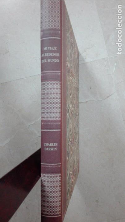 MI VIAJE ALREDEDOR DEL MUNDO-CHARLES DARWIN (Libros Antiguos, Raros y Curiosos - Ciencias, Manuales y Oficios - Bilogía y Botánica)