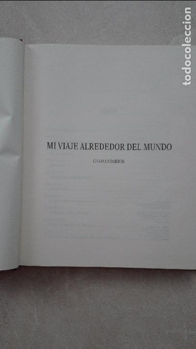 Libros antiguos: MI VIAJE ALREDEDOR DEL MUNDO-CHARLES DARWIN - Foto 3 - 90700345