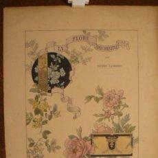 Libros antiguos: LA FLORE DECORATIVE DE HENRY LAMBER. Lote 90796350