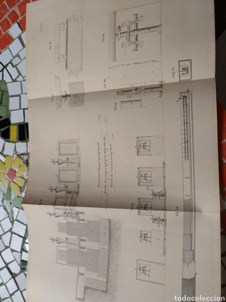 Libros antiguos: Aparato de Ibáñez. Para medir bases Geodésicas. Rafael Álvarez Sereix. Año 1889 - Foto 6 - 91161505