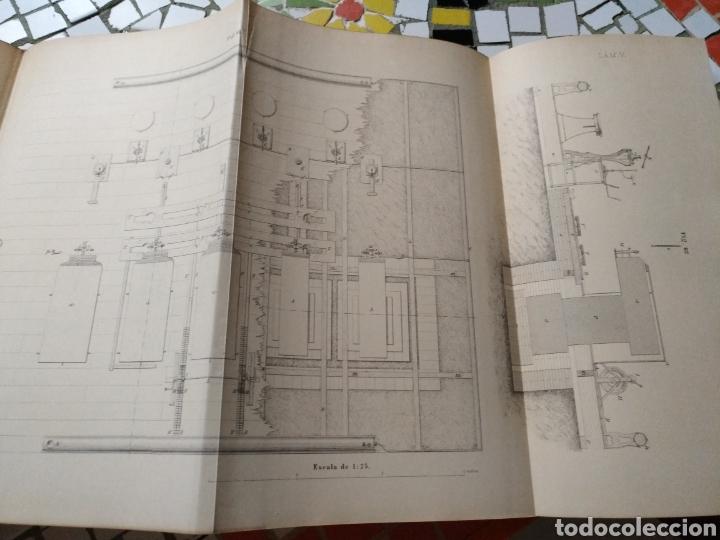 Libros antiguos: Aparato de Ibáñez. Para medir bases Geodésicas. Rafael Álvarez Sereix. Año 1889 - Foto 7 - 91161505