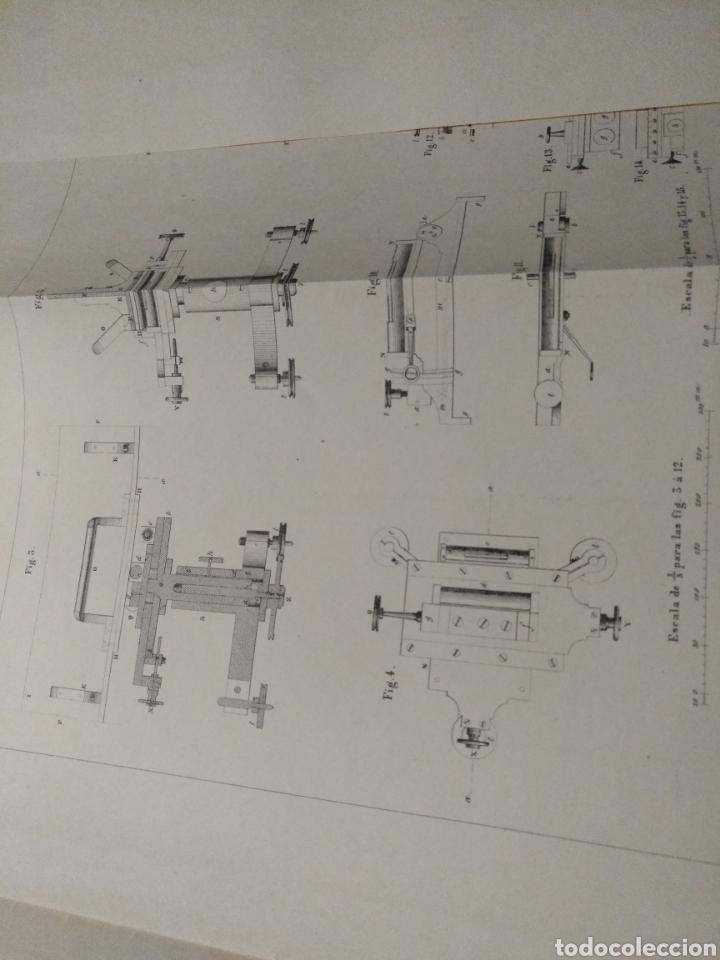 Libros antiguos: Aparato de Ibáñez. Para medir bases Geodésicas. Rafael Álvarez Sereix. Año 1889 - Foto 10 - 91161505