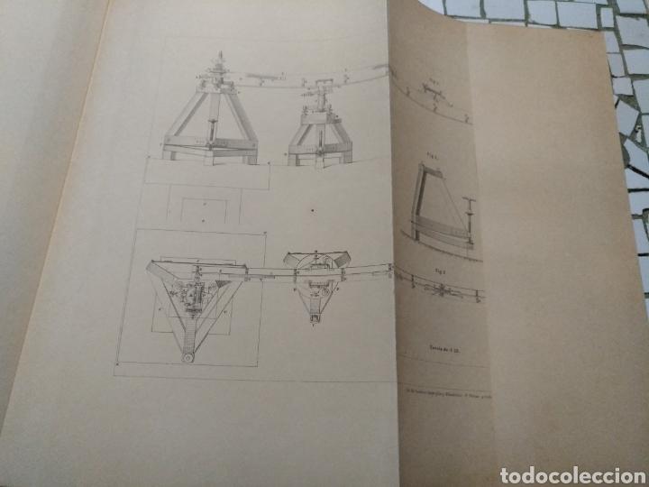 Libros antiguos: Aparato de Ibáñez. Para medir bases Geodésicas. Rafael Álvarez Sereix. Año 1889 - Foto 11 - 91161505