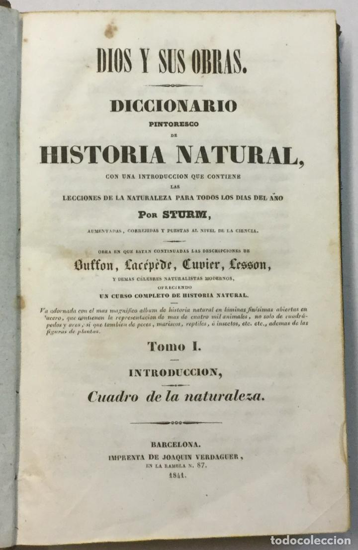 Libros antiguos: YÁÑEZ, AGUSTIN. DICCIONARIO PINTORESCO DE HISTORIA NATURAL Y DE AGRICULTURA. CON NUMEROSAS LÁMINAS. - Foto 30 - 91249040