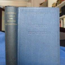 Libros antiguos: MÉTODOS ESTADÍSTICOS APLICADOS A LA ECONOMÍA Y LOS NEGOCIOS. MADRID 1935. Lote 93720335