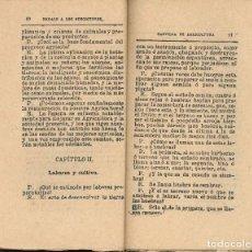 Libros antiguos: CARTILLA DE AGRICULTURA BALBINO CORTES Y MORALES. Lote 94984111