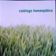 Libros antiguos: CATÁLOGO HOMEOPÁTICO. IBER HOME. . Lote 95156115