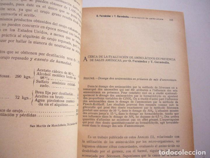 Libros antiguos: ANALES DE SOCIEDAD ESPAÑOLA DE FISICA Y QUIMICA XXII-1924-EN UN TOMO - Foto 6 - 96120227