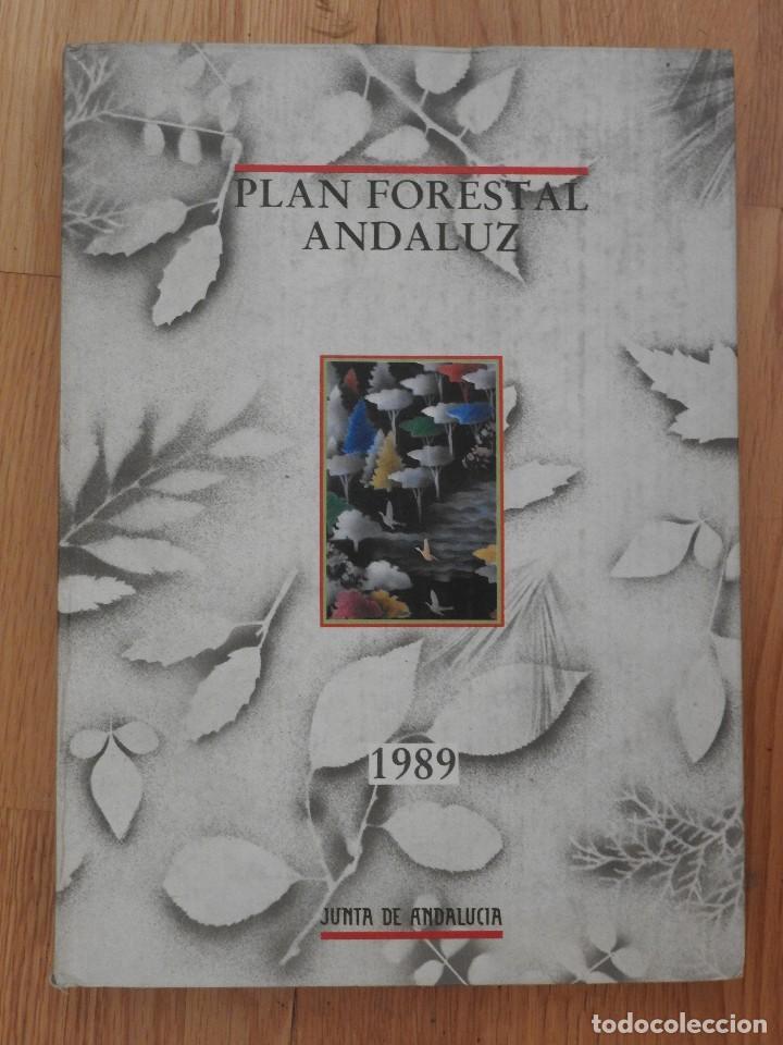 PLAN FORESTAL ANDALUZ JUNTA DE ANDALUCÍA, 1989 (Libros Antiguos, Raros y Curiosos - Ciencias, Manuales y Oficios - Bilogía y Botánica)