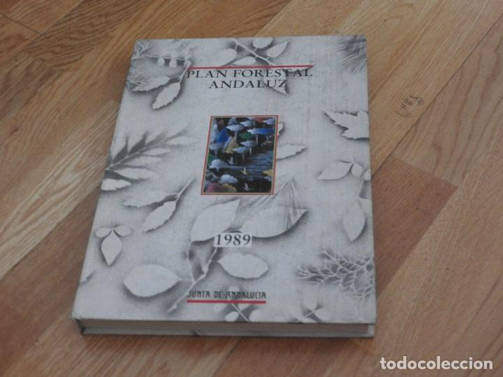 Libros antiguos: Plan Forestal Andaluz Junta de Andalucía, 1989 - Foto 2 - 96155307