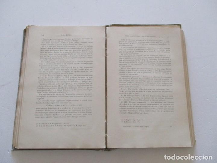 Libros antiguos: Traité de Chimie Analytique Minérale qualitative et quantitative. TRES TOMOS. RM82449. - Foto 5 - 96168703