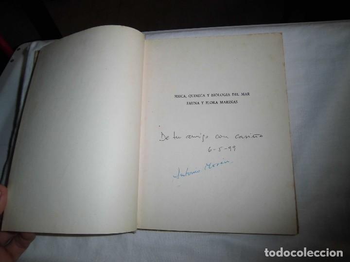 Libros antiguos: FISICA QUIMICA Y BIOLOGIA DEL MAR FAUNA Y FLORA MARINAS.LUIS ALABART BALLESTEROS.4º CURSO BACHILLER - Foto 4 - 96186843