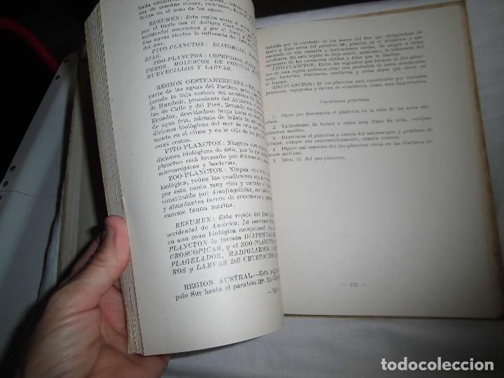 Libros antiguos: FISICA QUIMICA Y BIOLOGIA DEL MAR FAUNA Y FLORA MARINAS.LUIS ALABART BALLESTEROS.4º CURSO BACHILLER - Foto 6 - 96186843