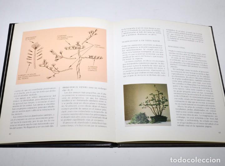 Libros antiguos: BONSAI - TÉCNICAS Y CULTIVO - JOSÉ BERRUEZO - EDICIONES ELFOS 1989 - Foto 2 - 97147779