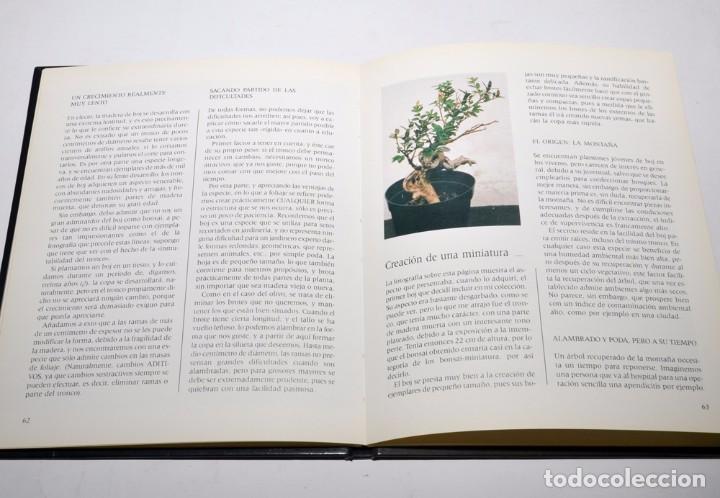 Libros antiguos: BONSAI - TÉCNICAS Y CULTIVO - JOSÉ BERRUEZO - EDICIONES ELFOS 1989 - Foto 3 - 97147779
