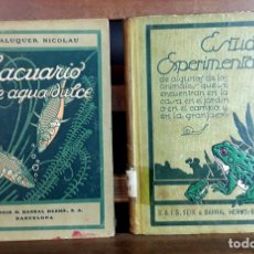 Libros antiguos: EDITORES SEIX Y BARRAL. 2 EJEMPLARES. VARIOS AUTORES. 1927.. Lote 97204407