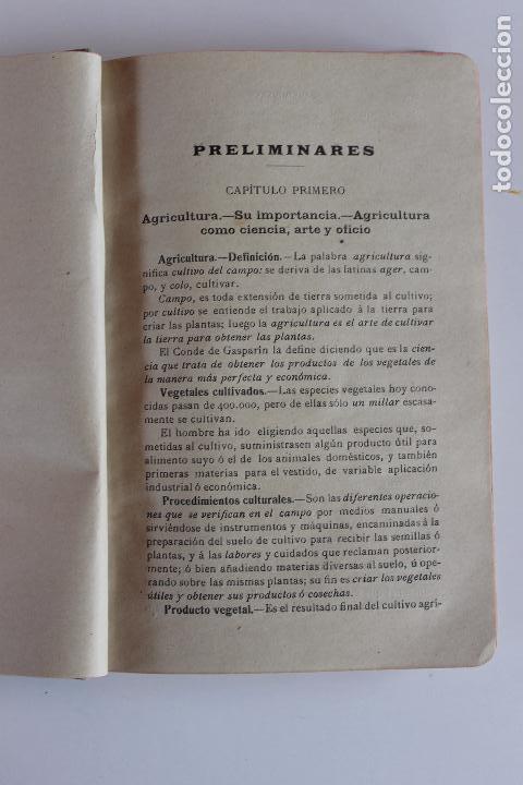 Libros antiguos: AGRICULTURA Y TECNICA AGRICOLA E INDUSTRIAL, DIONISIO M. AYUSO, OVIEDO 1914 - Foto 2 - 97265679