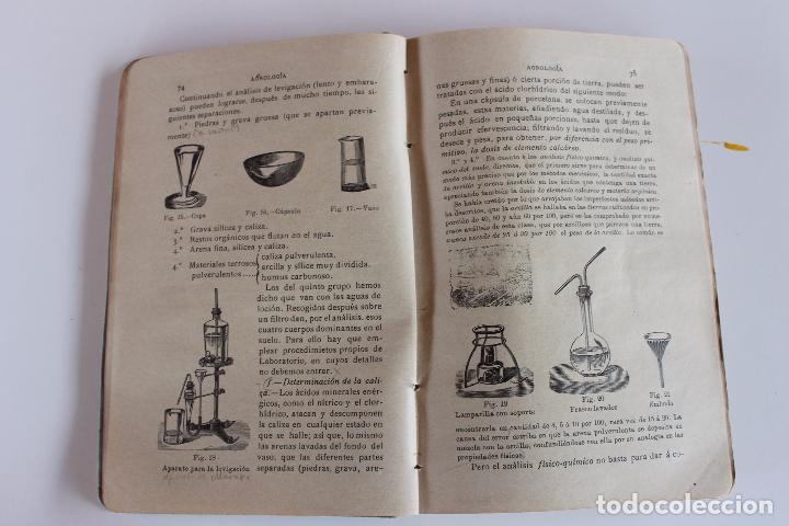 Libros antiguos: AGRICULTURA Y TECNICA AGRICOLA E INDUSTRIAL, DIONISIO M. AYUSO, OVIEDO 1914 - Foto 3 - 97265679