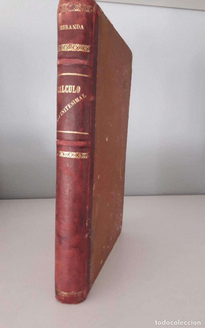 Libros antiguos: Lecciones de Cálculo Infinitesimal -A. Miranda- Madrid 1888 - Foto 2 - 97280723