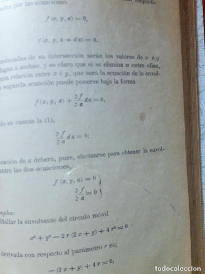 Libros antiguos: Lecciones de Cálculo Infinitesimal -A. Miranda- Madrid 1888 - Foto 4 - 97280723