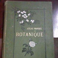 Libros antiguos: ATLAS MANUAL BOTÁNICA PUBLICACIÓN 1. 886. Lote 97653087