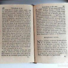 Libros antiguos: CURIOSIDADES DE LA NATURALEZA . ABAD VALLEMONT. EDIT. ANTONIO OROZCO. 1768.. Lote 97705179