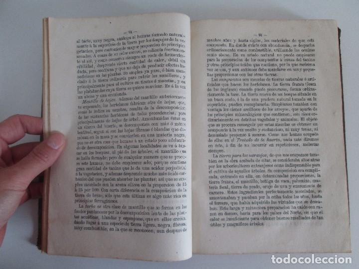 Libros antiguos: TRATADO COMPLETO DEL CULTIVO DE ARBOLES Y ARBUSTOS FRUTALES. BUENAVENTURA ARAGO. 1874 - Foto 14 - 98701191