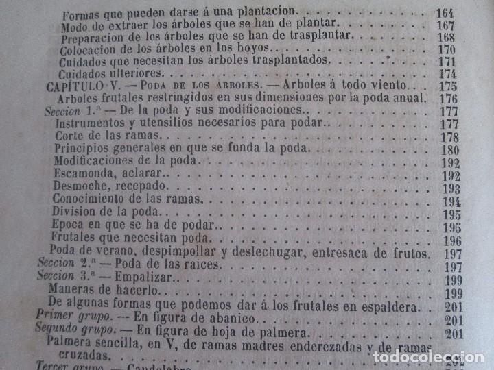 Libros antiguos: TRATADO COMPLETO DEL CULTIVO DE ARBOLES Y ARBUSTOS FRUTALES. BUENAVENTURA ARAGO. 1874 - Foto 28 - 98701191