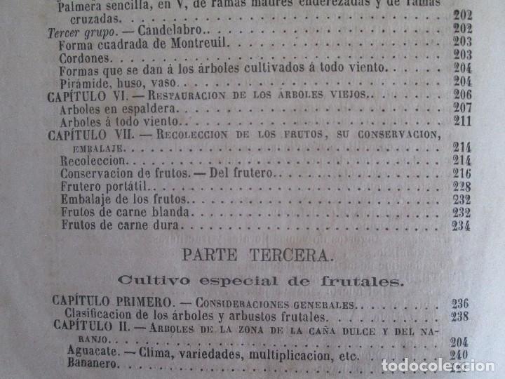 Libros antiguos: TRATADO COMPLETO DEL CULTIVO DE ARBOLES Y ARBUSTOS FRUTALES. BUENAVENTURA ARAGO. 1874 - Foto 29 - 98701191