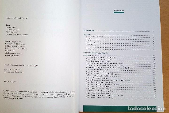Libros antiguos: PARQUES Y RESERVAS NATURALES DE ESPAÑA . AUTOR: FRANCISCO SANTOLALLA - Foto 2 - 99780847