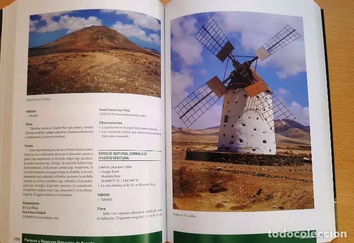 Libros antiguos: PARQUES Y RESERVAS NATURALES DE ESPAÑA . AUTOR: FRANCISCO SANTOLALLA - Foto 3 - 99780847