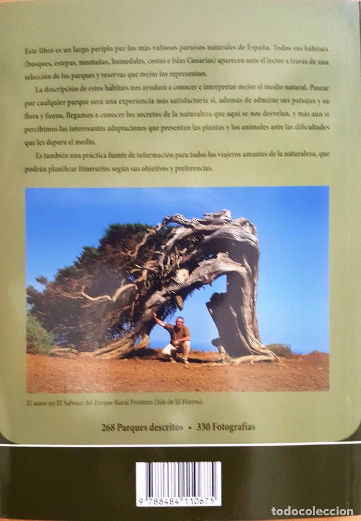 Libros antiguos: PARQUES Y RESERVAS NATURALES DE ESPAÑA . AUTOR: FRANCISCO SANTOLALLA - Foto 4 - 99780847