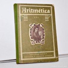Libros antiguos: ARITMÉTICA - TERCER Y CUARTO CURSOS - SEGUNDO GRADO. Lote 99839471