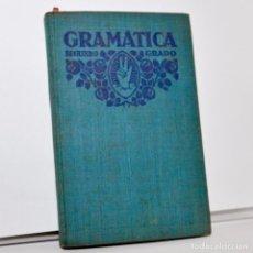 Libros antiguos: GRAMÁTICA ESPAÑOLA POR F.T.D. - SEGUND GRADO - 1932. Lote 99907375