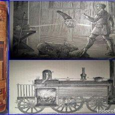 Libros antiguos: LIBRO DEL AÑO 1879: DESCUBRIMIENTOS E INVENTOS. ATENCIÓN A LAS ILUSTRACIONES.. Lote 100173735