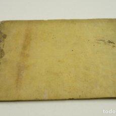 Libros antiguos: TABLAS DEL ADEUDO DE INTERESES DE LOS VALES REALES Y DEL CANAL DE TAUSTE,FINALES S. XVIII. 25X17,5CM. Lote 102336299
