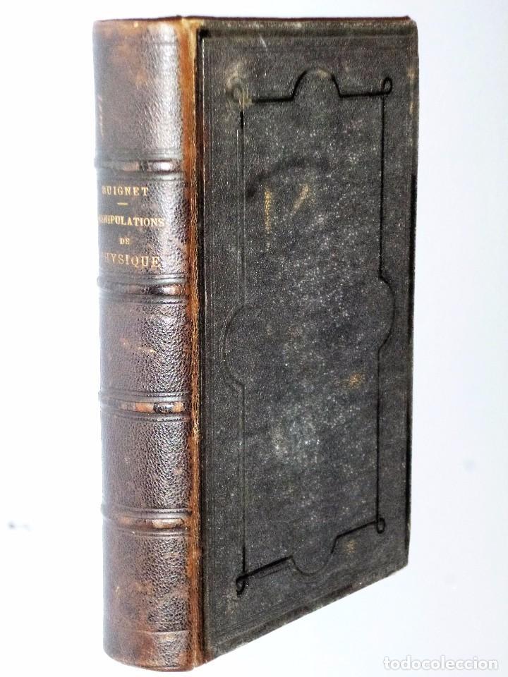 MANIPULATIONS DE PHYSIQUE. COURS DE TRAVAUX PRATIQUES (1877) (Libros Antiguos, Raros y Curiosos - Ciencias, Manuales y Oficios - Física, Química y Matemáticas)