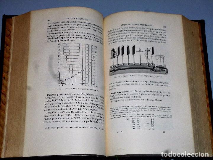 Libros antiguos: MANIPULATIONS DE PHYSIQUE. COURS DE TRAVAUX PRATIQUES (1877) - Foto 3 - 102523767