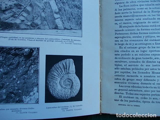 Libros antiguos: Historia de la Tierra 1.933 - Foto 2 - 102596623