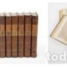 Libros antiguos: DICCIONARIO UNIVERSAL DE AGRICULTURA - 1797 - ROZIER - DESPLEGABLES - IMP. REAL. Lote 103523199