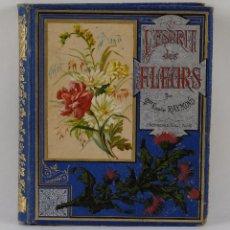Libros antiguos: L'ESPRIT DES FLEURS-EMMELINE RAYMOND-ED. J.ROTHSCHILD, PARIS 1884. Lote 103524395