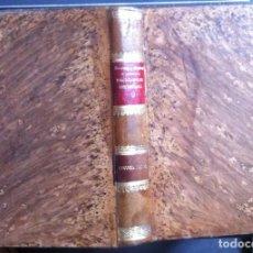 Libros antiguos: BOURNAY & SENDRAIL. CIRUGÍA DEL PIE DE LOS ANIMALES DOMÉSTICOS. ENCICLOPEDIA VETERINARIA IX. 1905. Lote 103643911