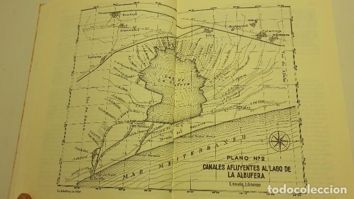 Libros antiguos: HISTORIA DE LA ALBUFERA DE VALENCIA. - MOMBLANCH Y GONZALEZ, - Foto 3 - 103709515