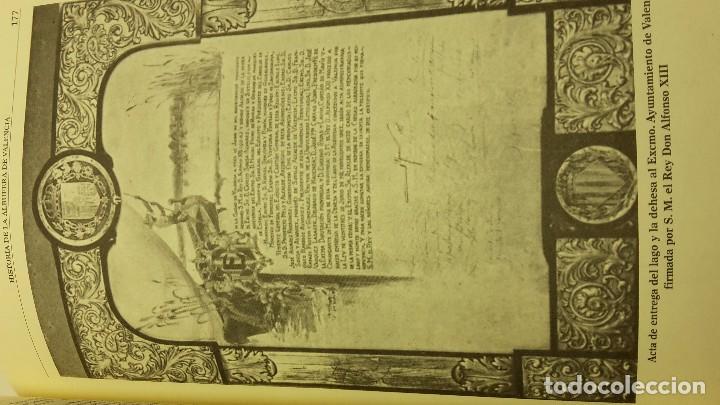 Libros antiguos: HISTORIA DE LA ALBUFERA DE VALENCIA. - MOMBLANCH Y GONZALEZ, - Foto 4 - 103709515