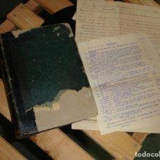 Libros antiguos: LIBRO CURSO ELEMENTAL DE FÍSICA.. Lote 104256571