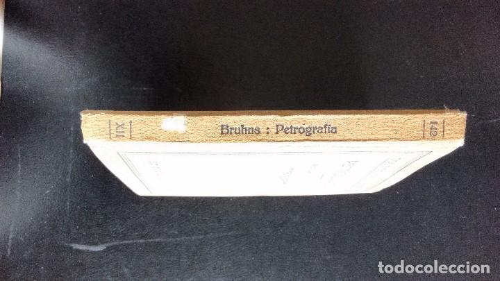 Libros antiguos: PETROGRAFÍA. PROF. DR. W. BRUHNS. EDITORIAL LABOR. PRIMERA EDICIÓN, 1928. - Foto 4 - 104360847