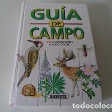 Libros antiguos: GUIA DE CAMPO SUSAETA. Lote 104381167